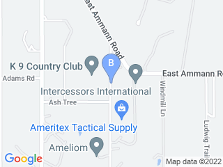 Map of K 9 Country Club Dog Boarding options in Bulverde | Boarding
